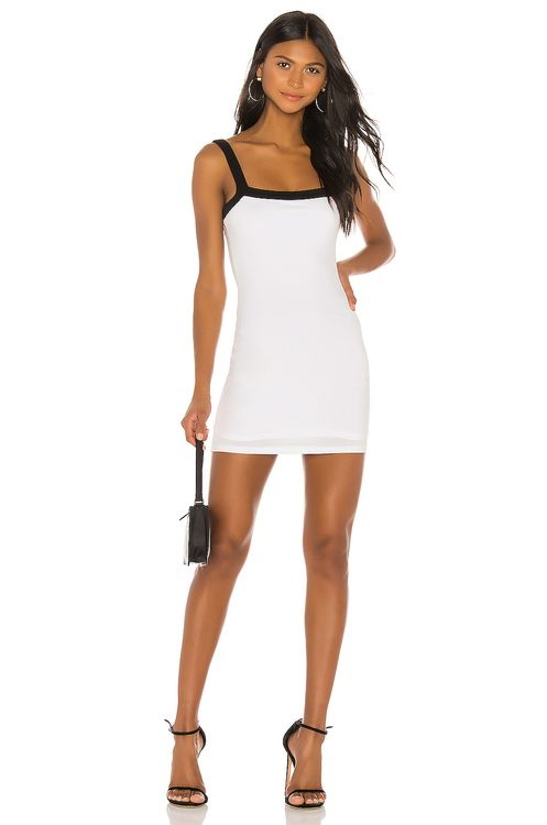 super down Arri Contrast Trim Dress