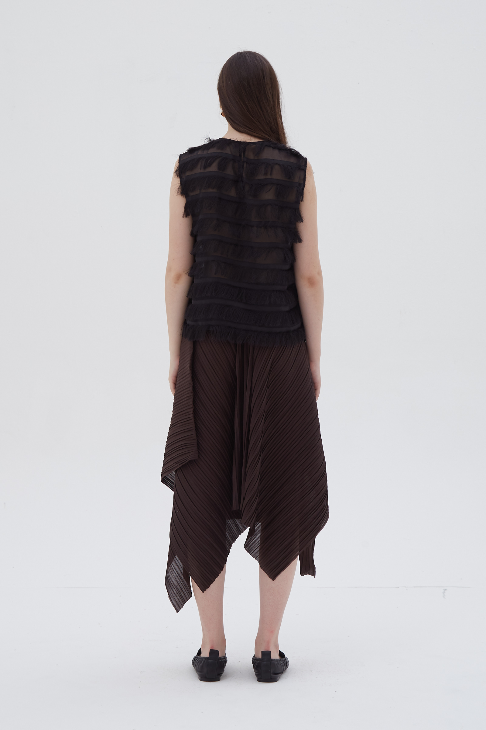 Shopatvelvet Kyra Pleated Skirt