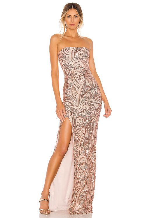 Nookie Sensational Sequin Gown