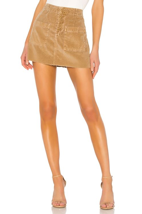 NSF Penelope Patch Pocket Mini Skirt