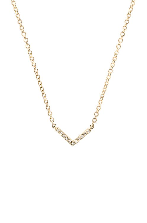 EF Collection Mini Chevron Necklace