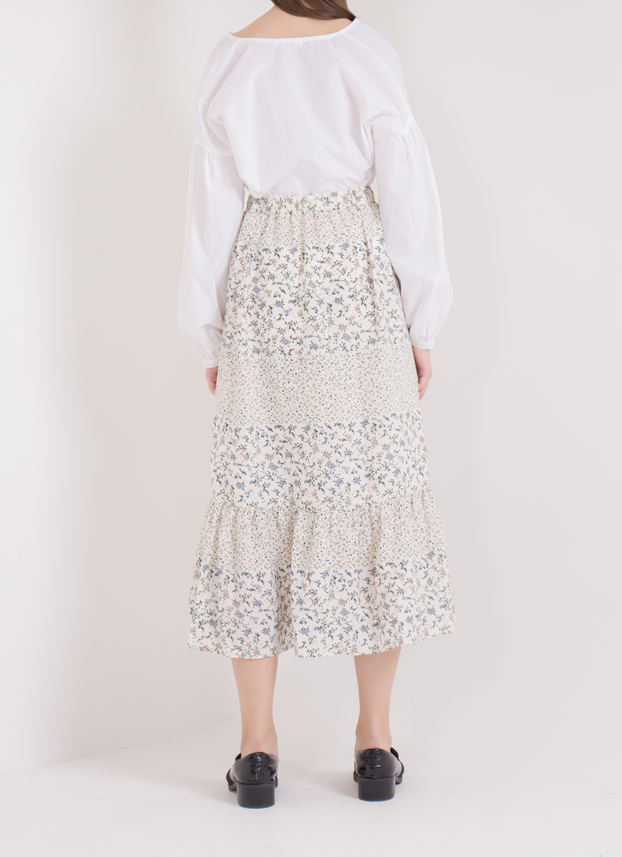 E-hyphen World Gallery Bianca Skirt - Ivory