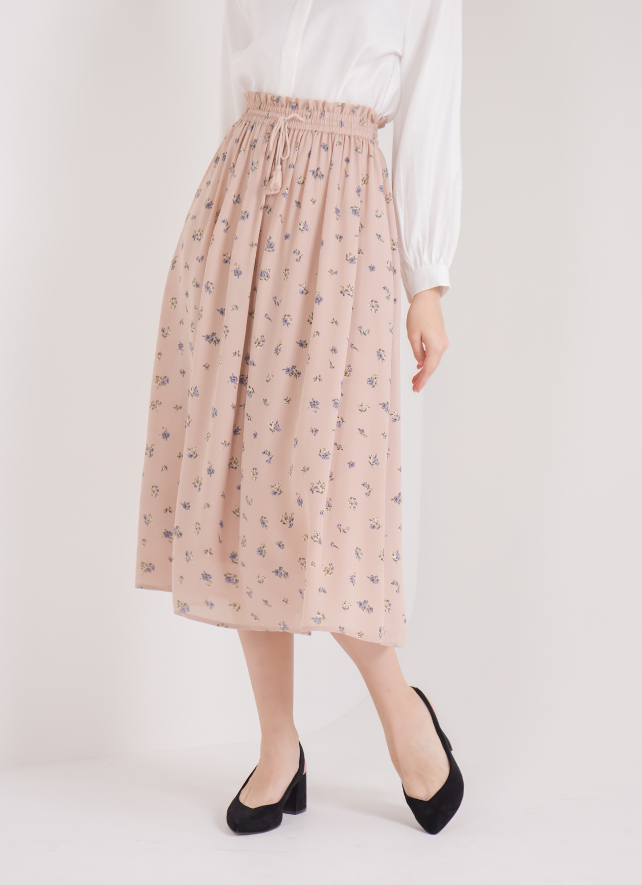 Earth, Music & Ecology Suzie Skirt - Light Pink