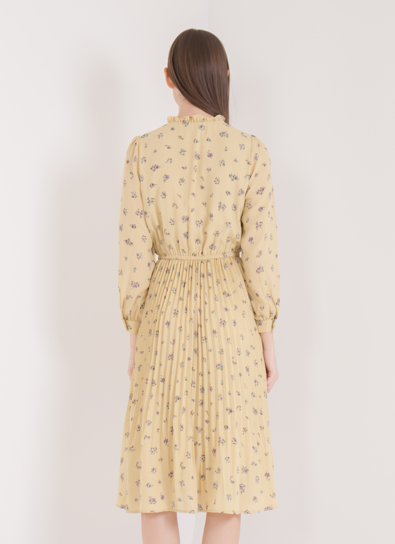 Earth, Music & Ecology Tracy Dress - Light Yellow