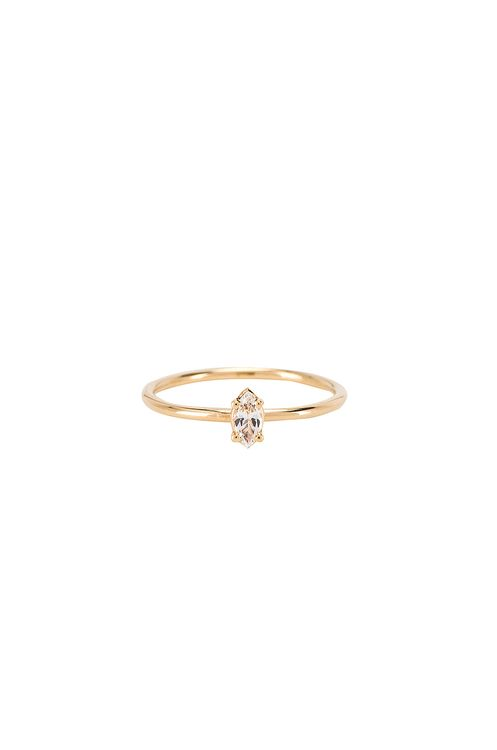 ERTH I Want You Marquise Ring
