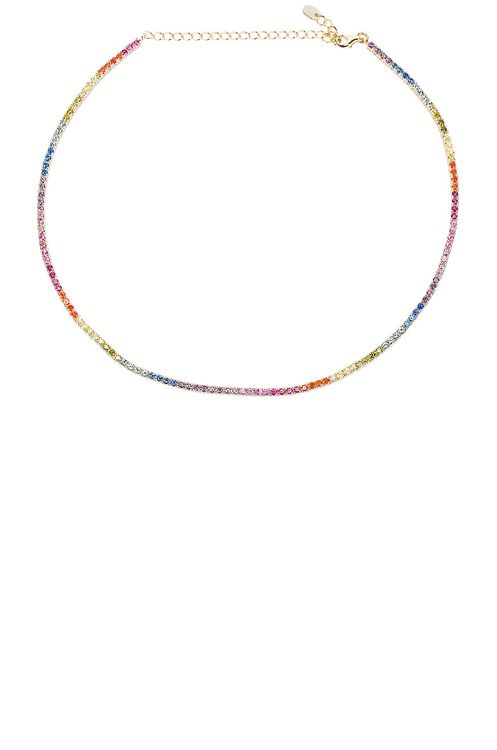 The M Jewelers NY Rainbow Chain Choker