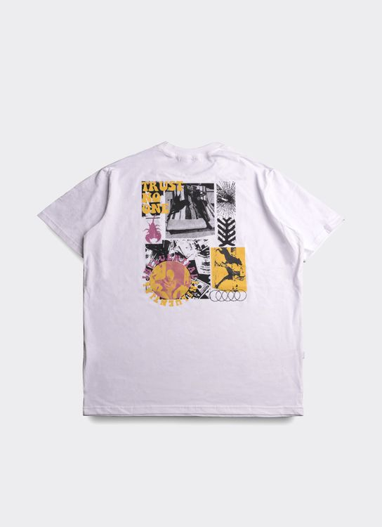 Influential Syndicate Trust No One T-Shirt - White