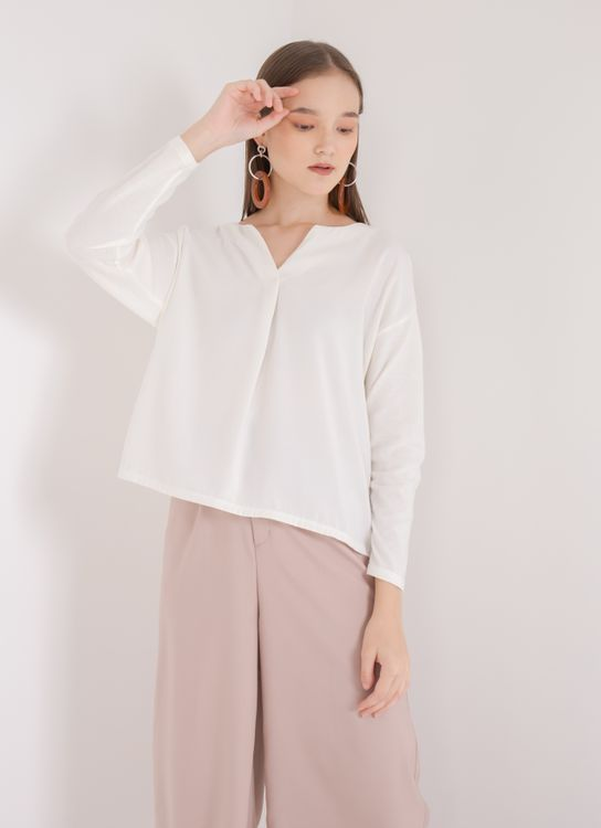 Earth, Music & Ecology Clara Top - Off White