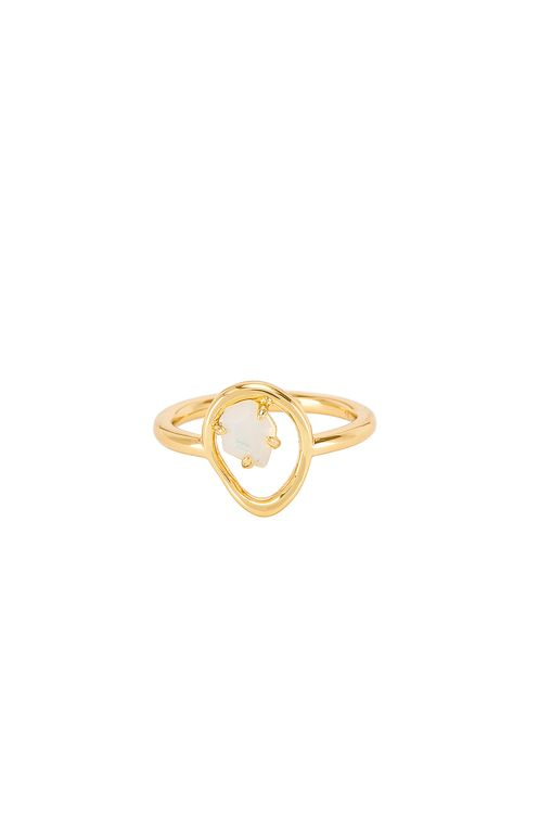 Wanderlust + Co Trust the Flow Ring