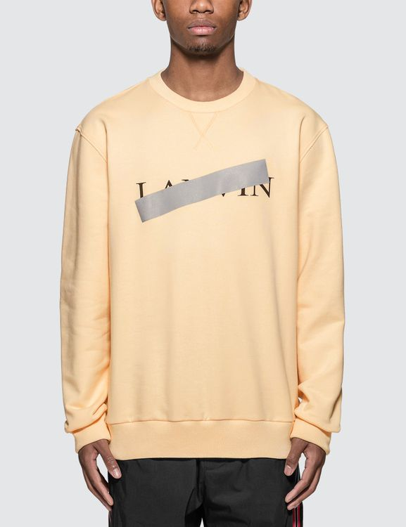 Lanvin Bar Print Sweatshirt