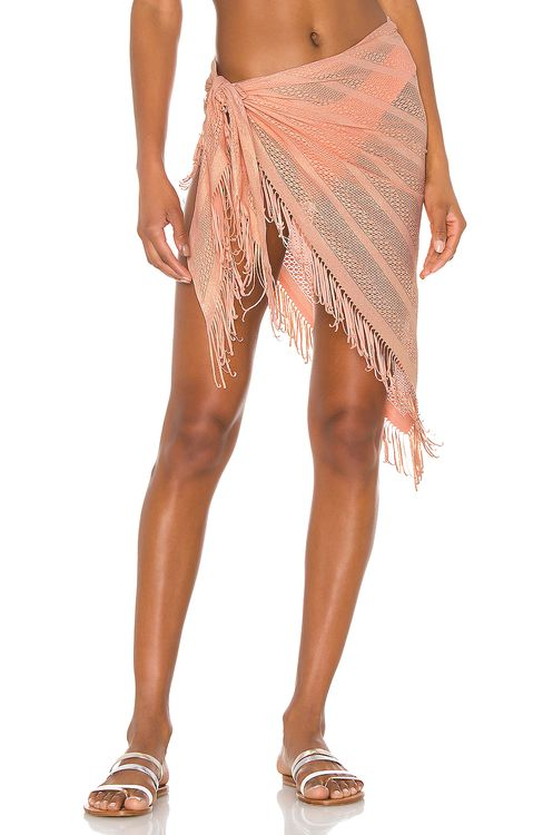 Beach Bunny Indian Summer Wrap Skirt