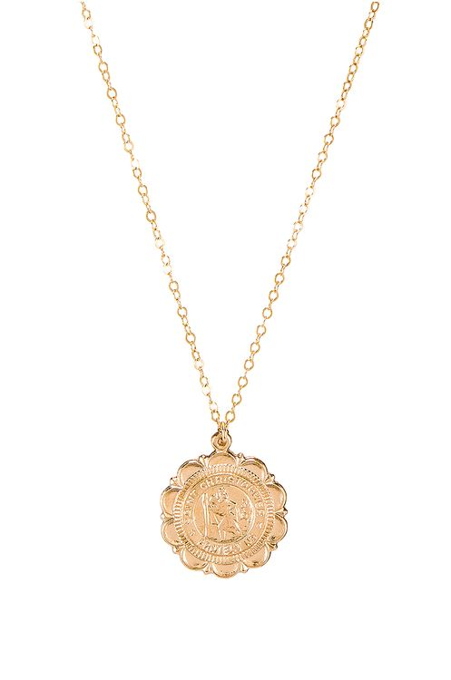 Paradigm St Christopher Coin Necklace