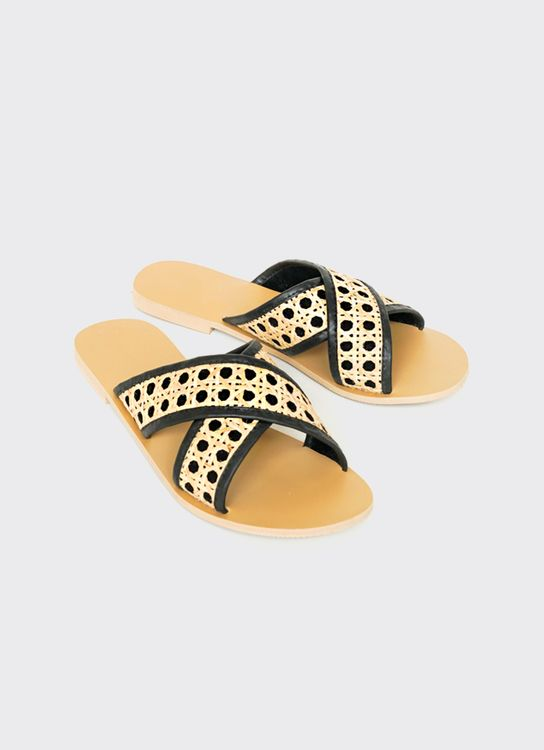 Hello Alice Reia Resort Sandal - Black