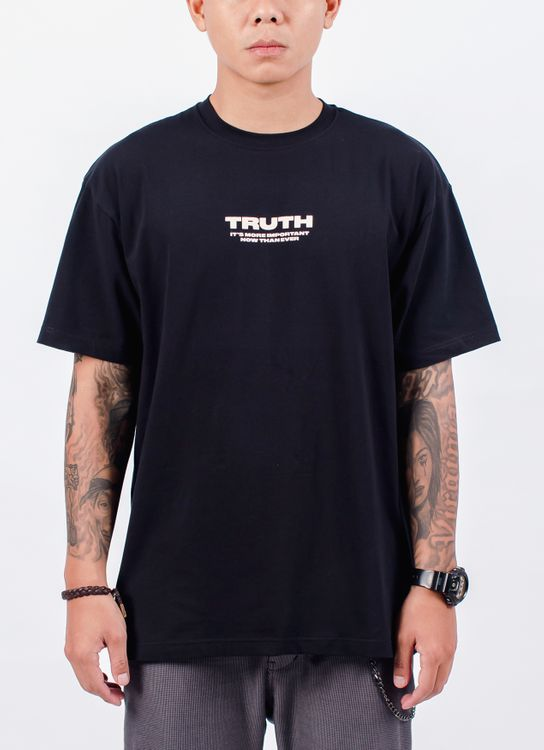 Muzca Truth T-shirt - Black