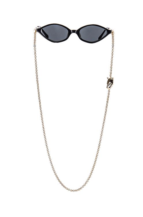 Alessandra Rich Small Cateye Sunglasses