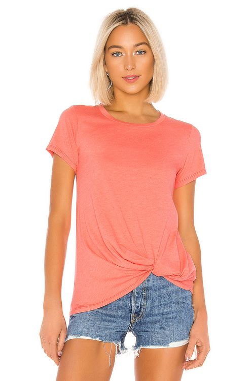 bobi Vintage Jersey Knotted Tee