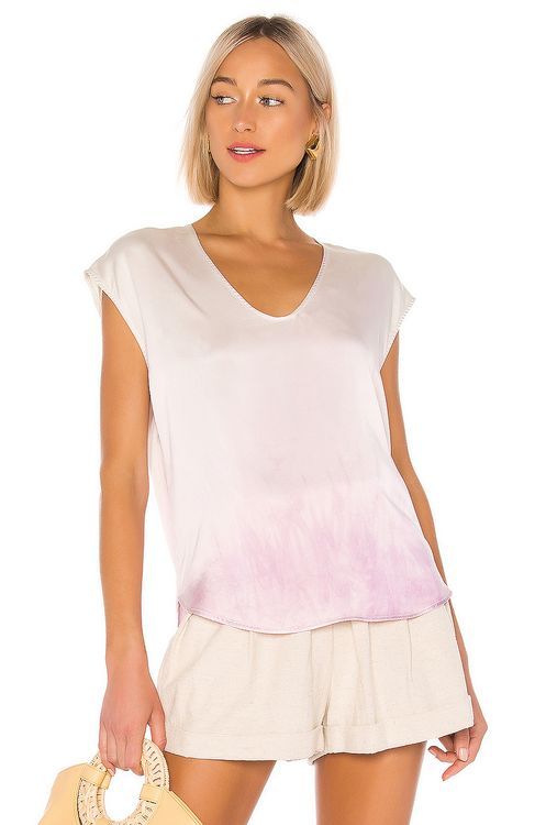 Raquel Allegra Perfect Shell Top