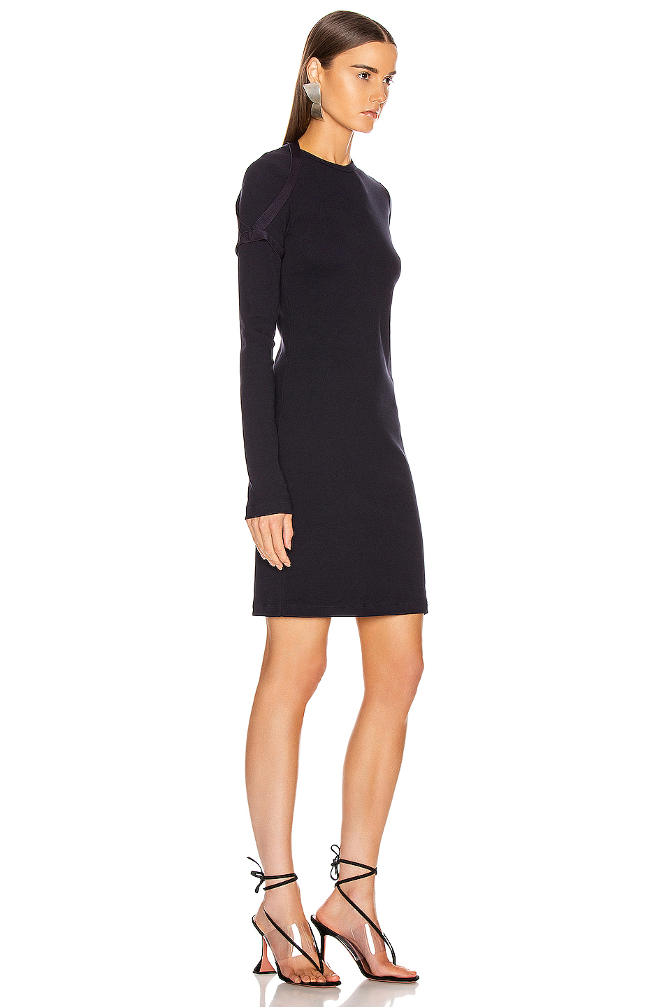 Helmut Lang Longsleeve Harness Dress
