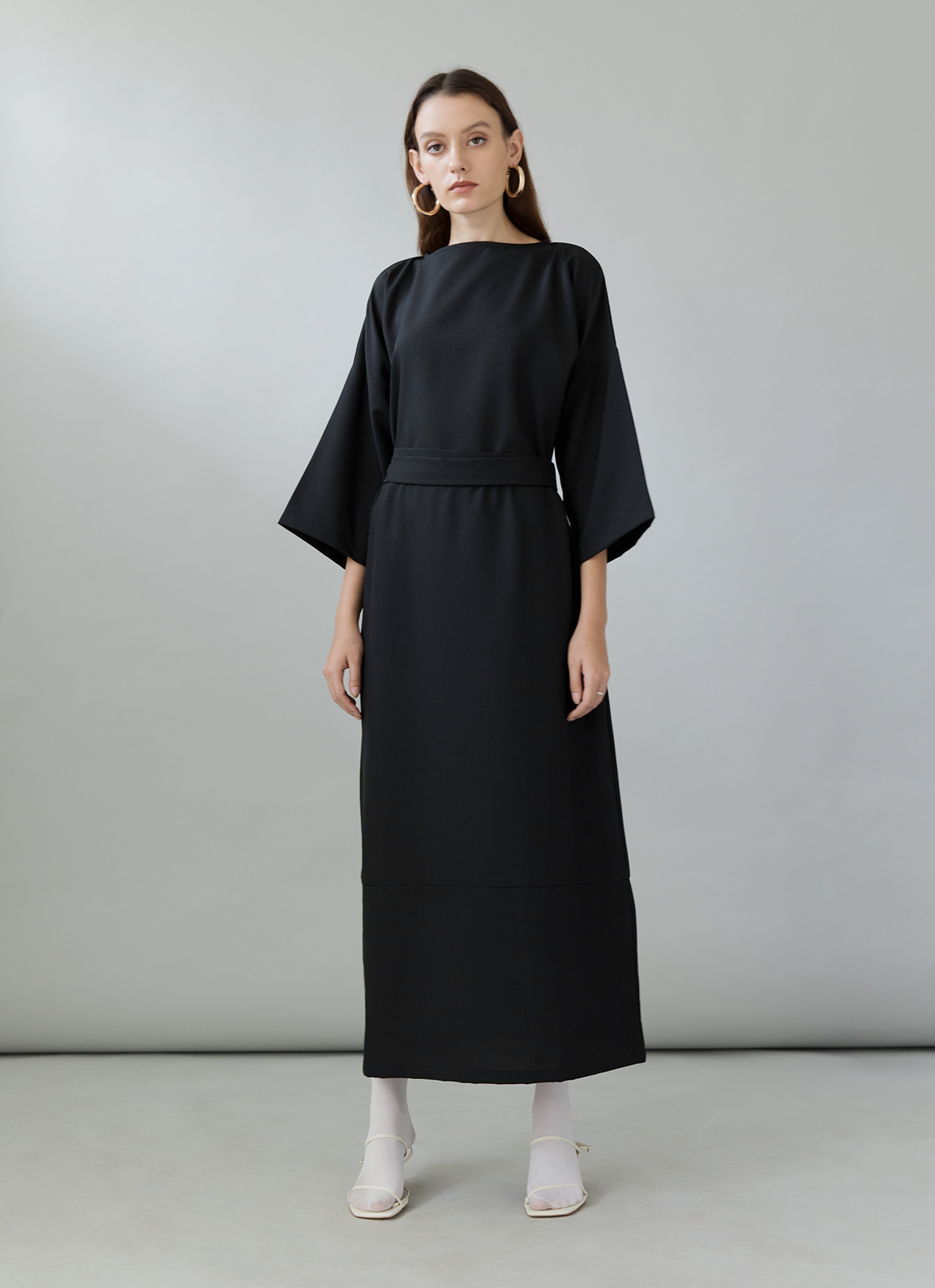 entire collection vast selection new lifestyle Ganni Black Dress - Black, ATS THE LABEL