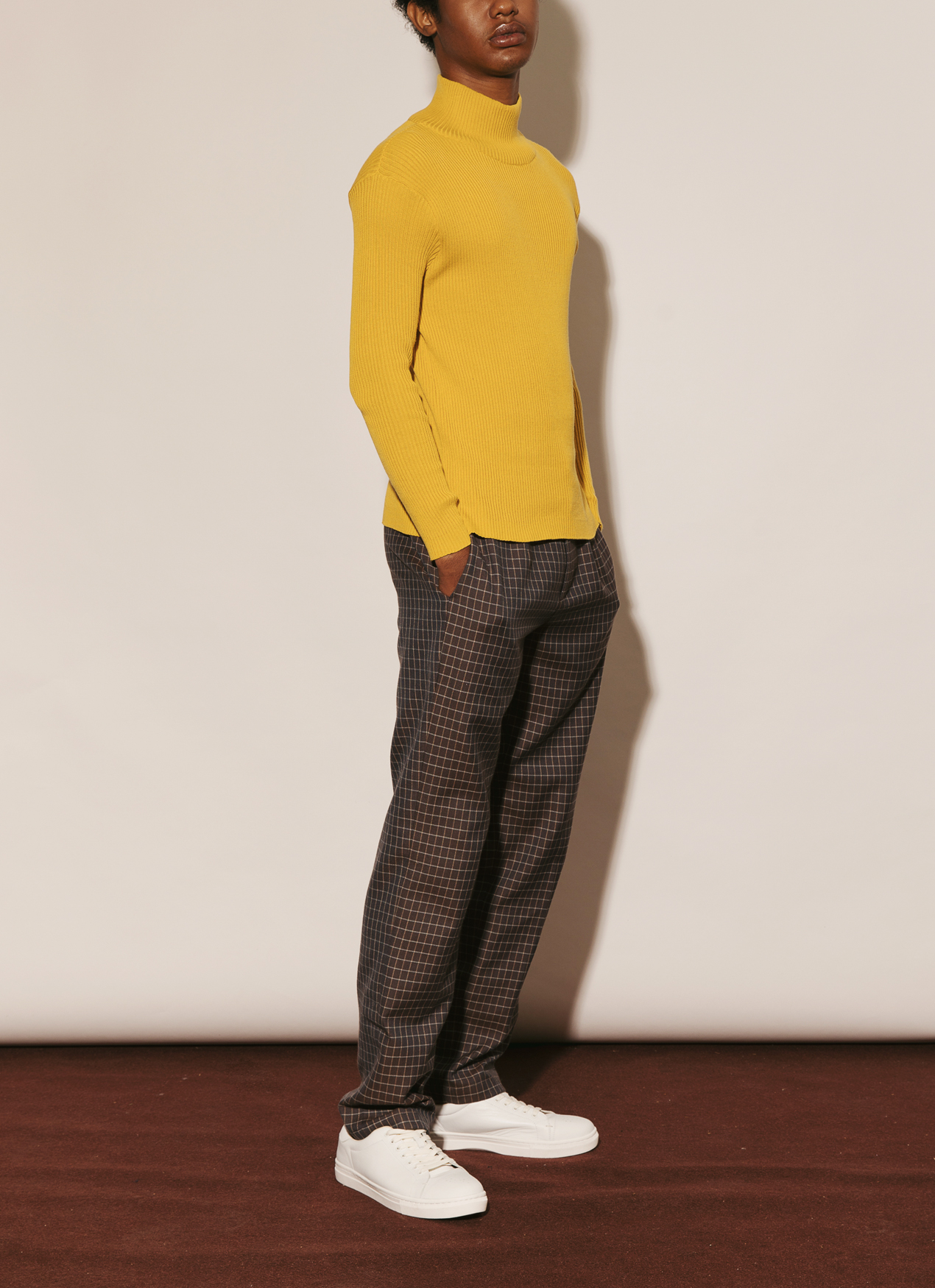 ATS THE LABEL State Sweater - Mustard