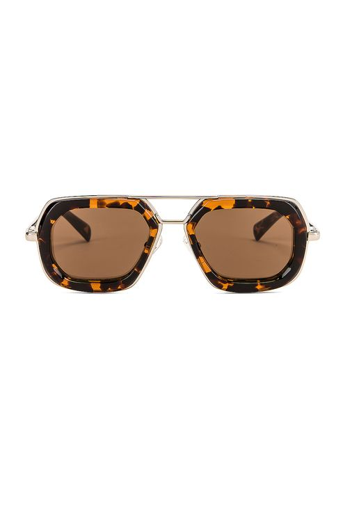 Dries Van Noten Rectangle Sunglasses