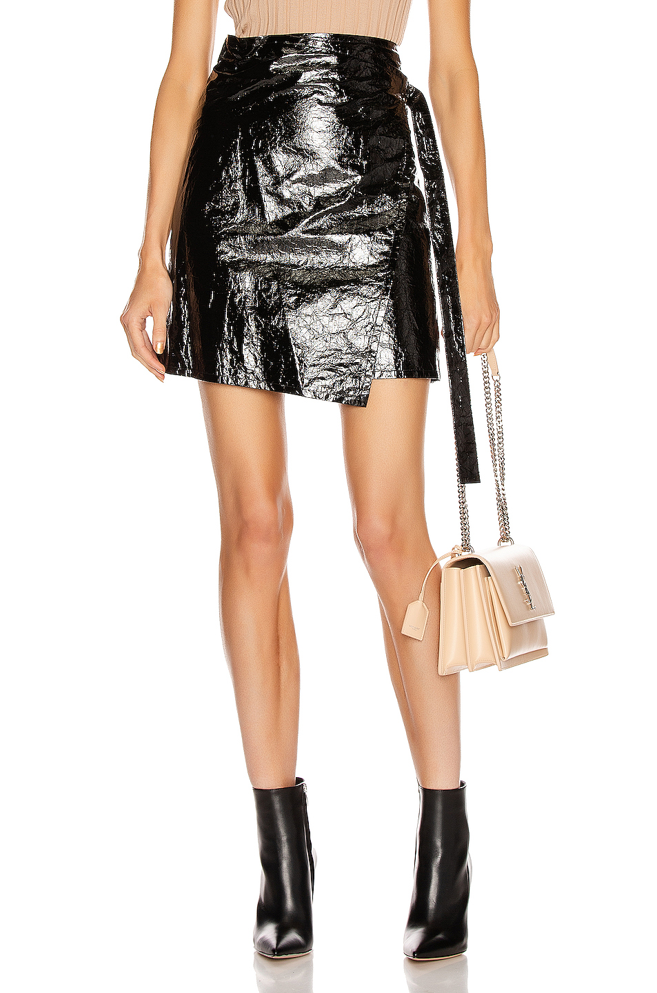 fc3a3e0e99 Buy Original Helmut Lang Mylar Wrap Skirt at Indonesia | BOBOBOBO