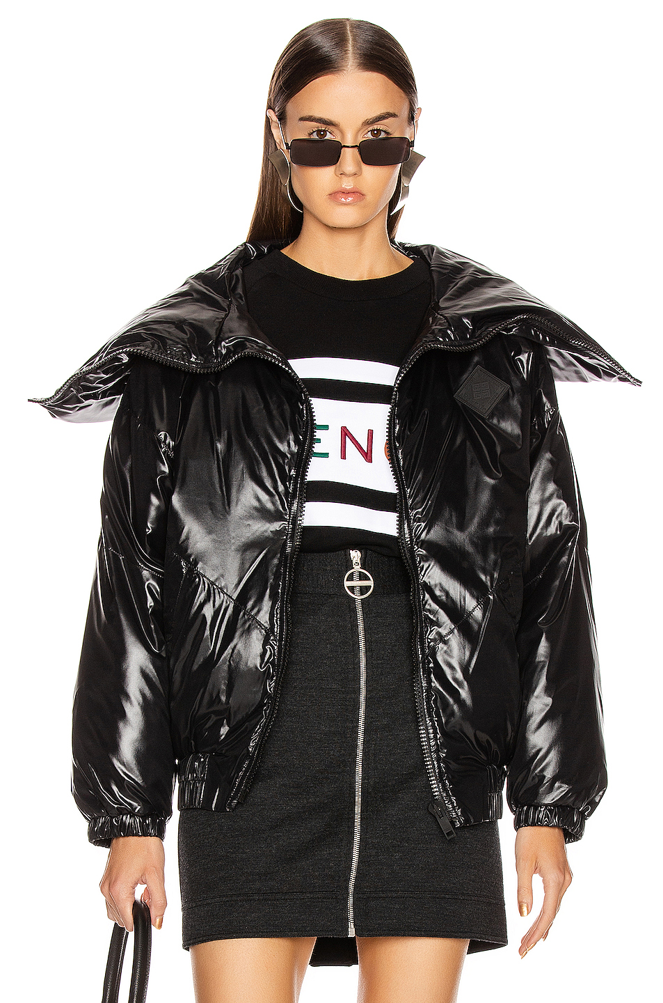 Givenchy Quilted Logo Puffer Jacket