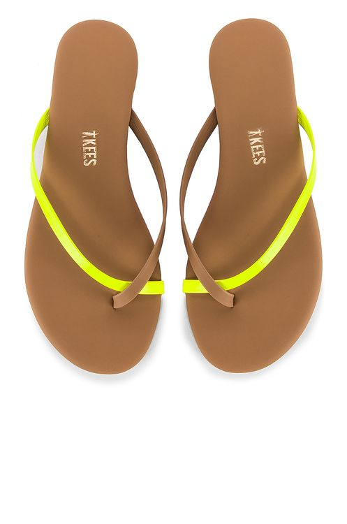 TKEES Riley Neon Flip Flop