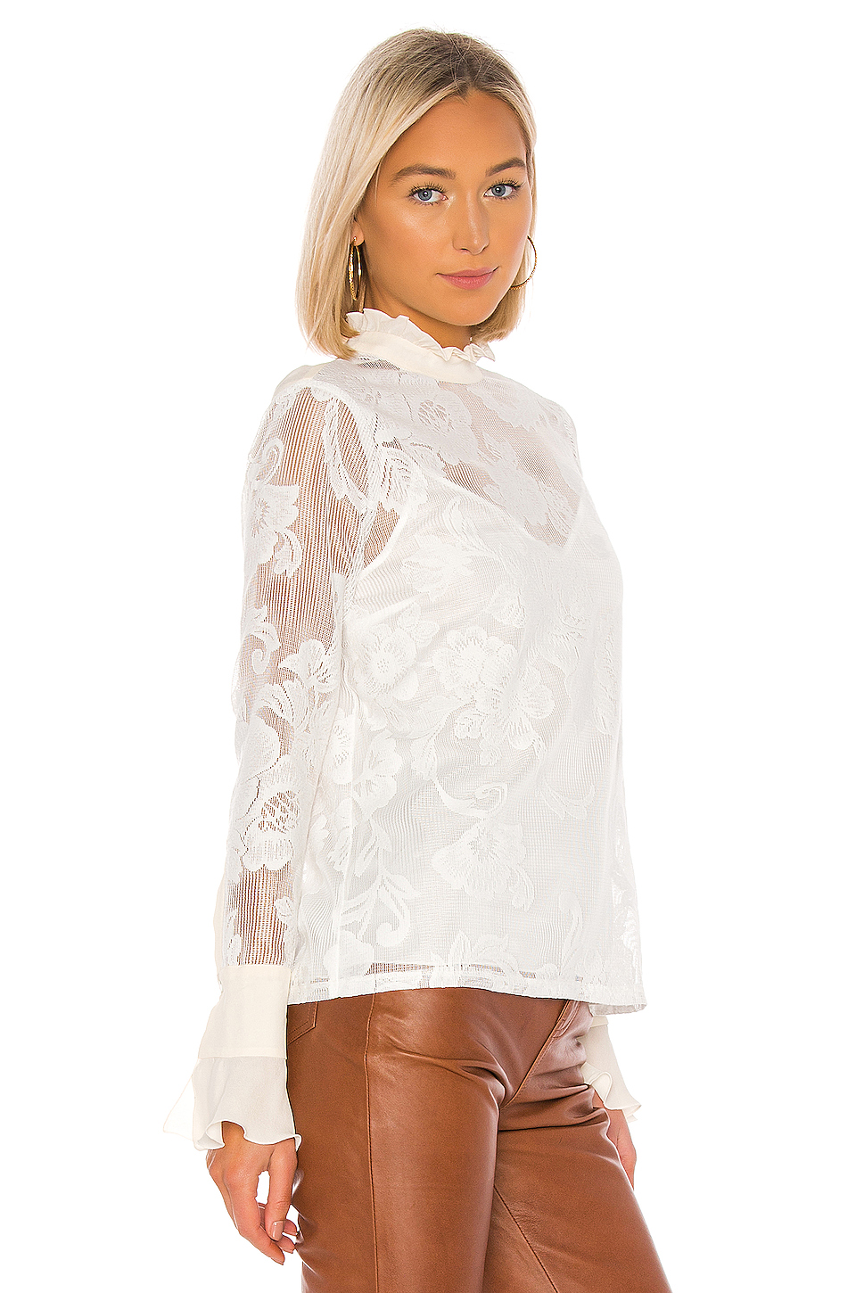 2543031c000121 Buy Original See By Chloe Lace Blouse at Indonesia   BOBOBOBO