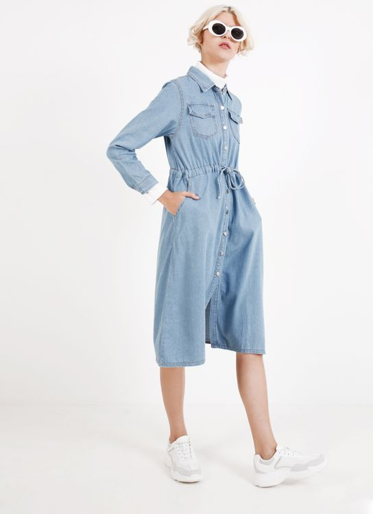 BOWN Ivy Dress - Blue
