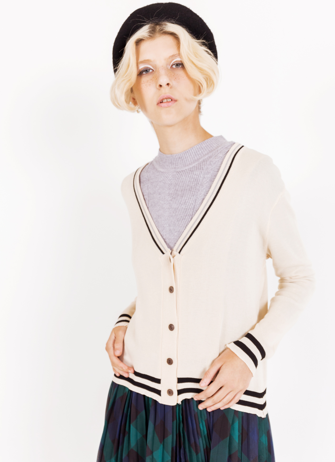 BOWN Carrie Cardigan - Apricot