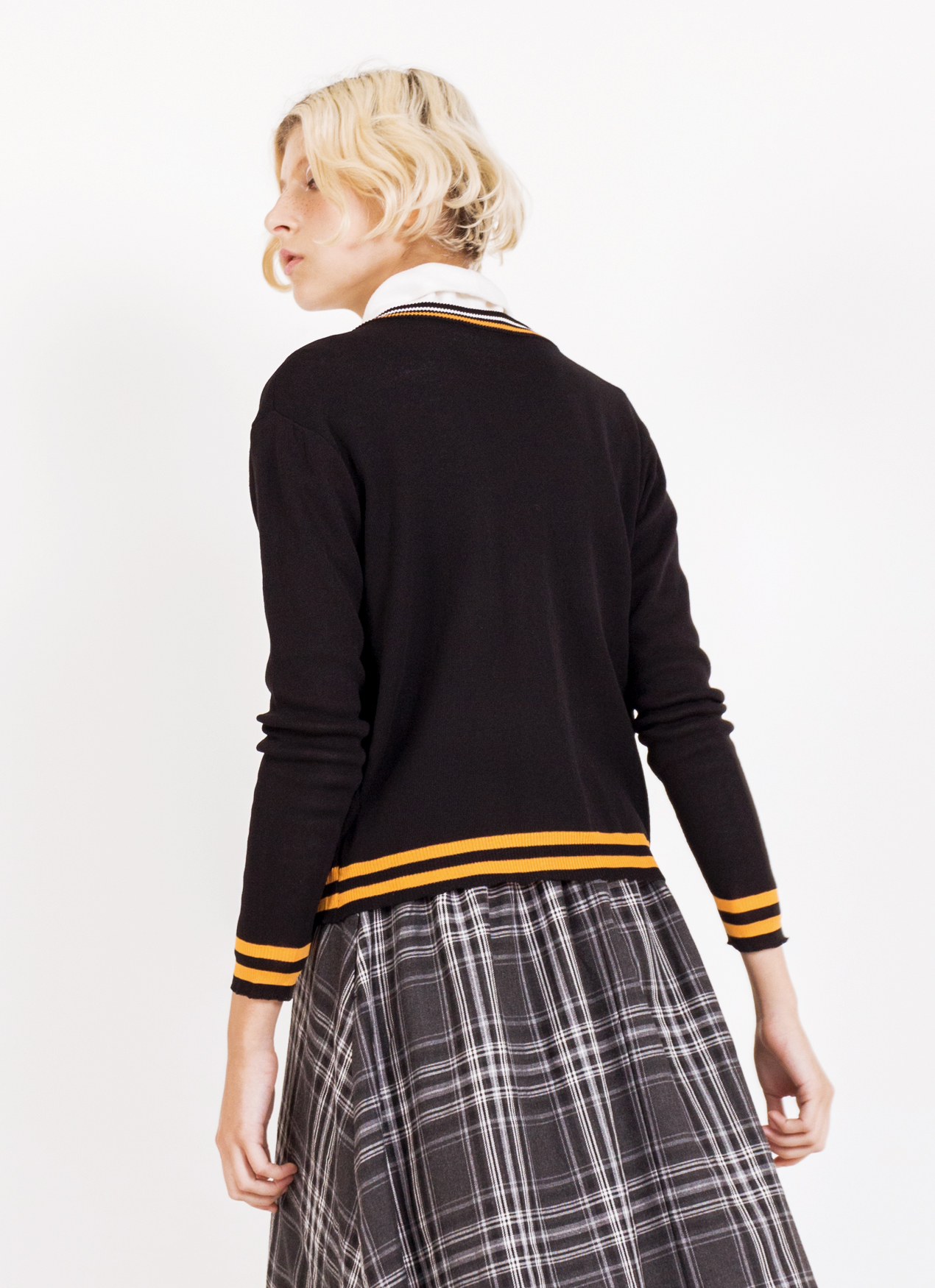 BOWN Carrie Cardigan - Black