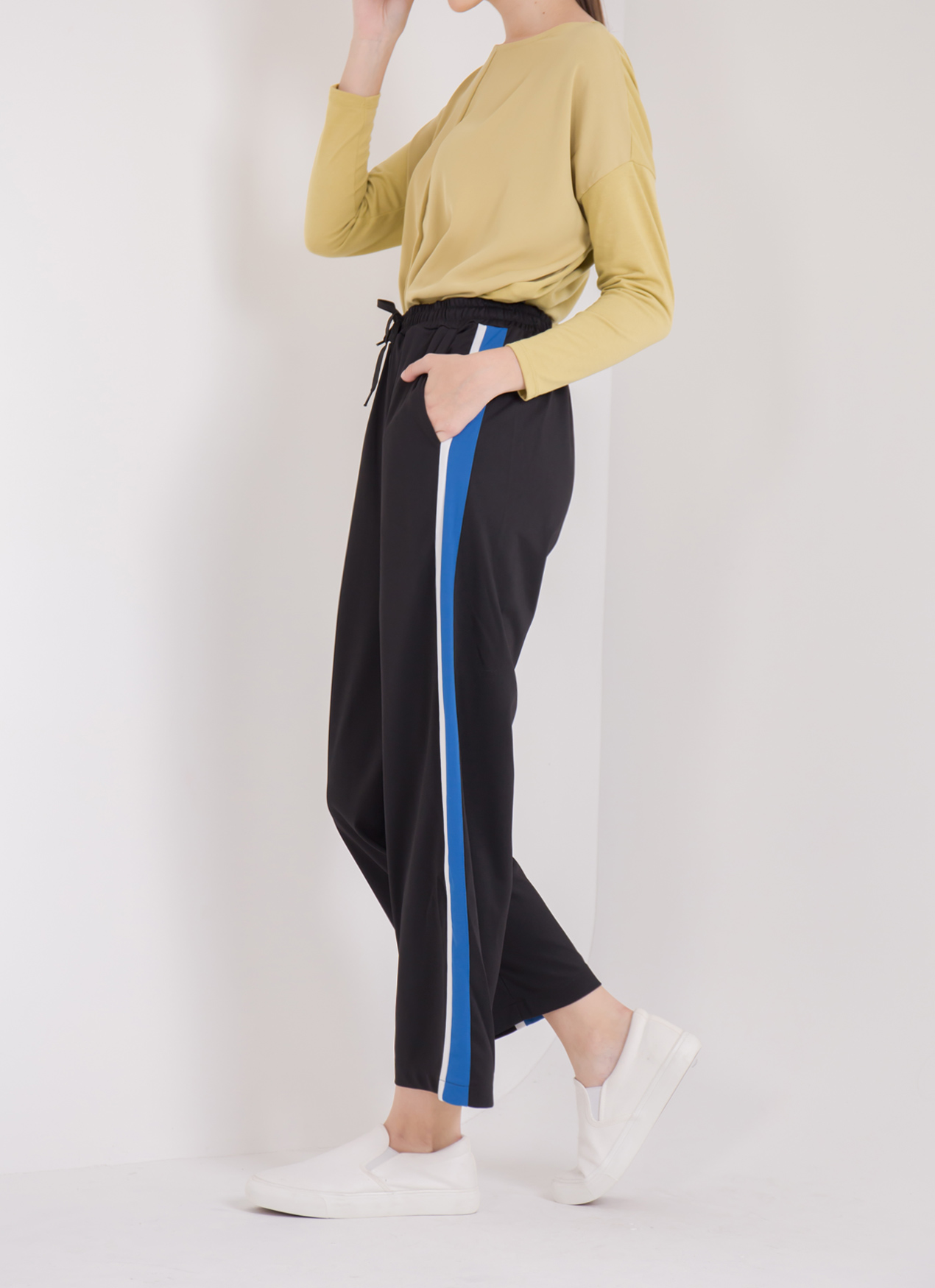 E-hyphen World Gallery Sandra Pants - Blue