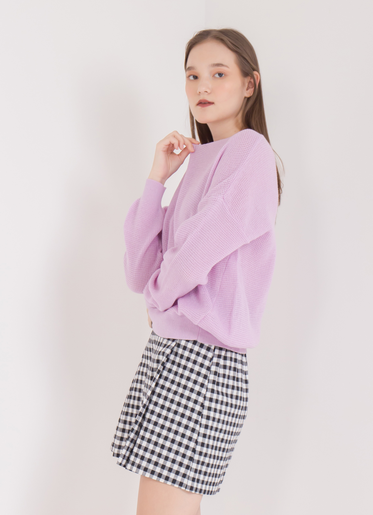 Green Parks Beatrice Sweater - Lavender