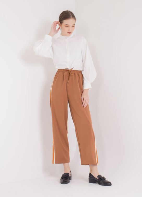 E-hyphen World Gallery Sandra Pants - Orange