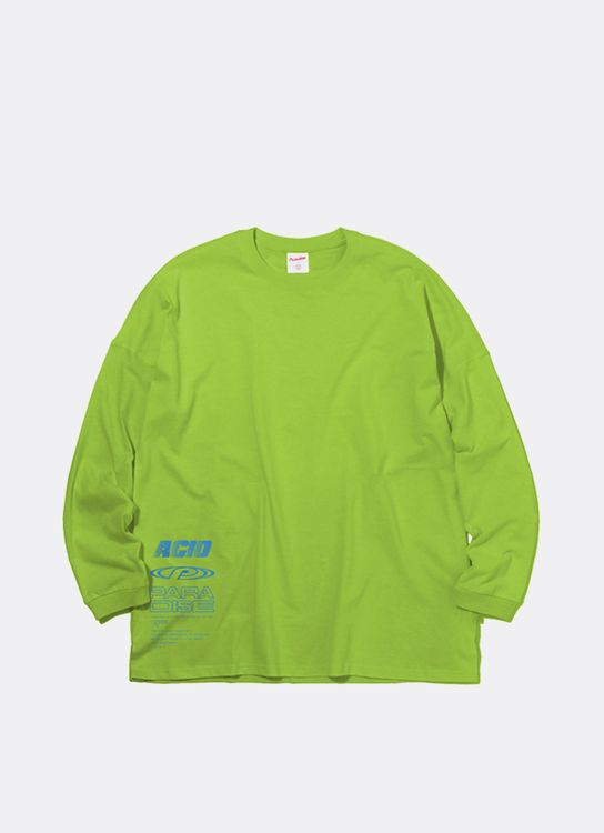 Paradise Youth Club Fate LS Tee - Green