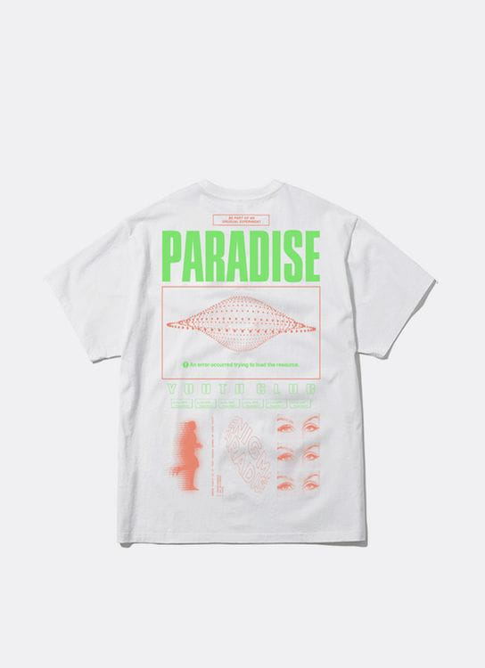 Paradise Youth Club Syntax Error Tee - White