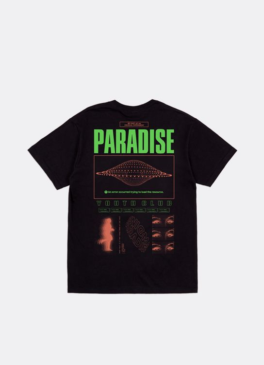 Paradise Youth Club Syntax Error Tee - Black