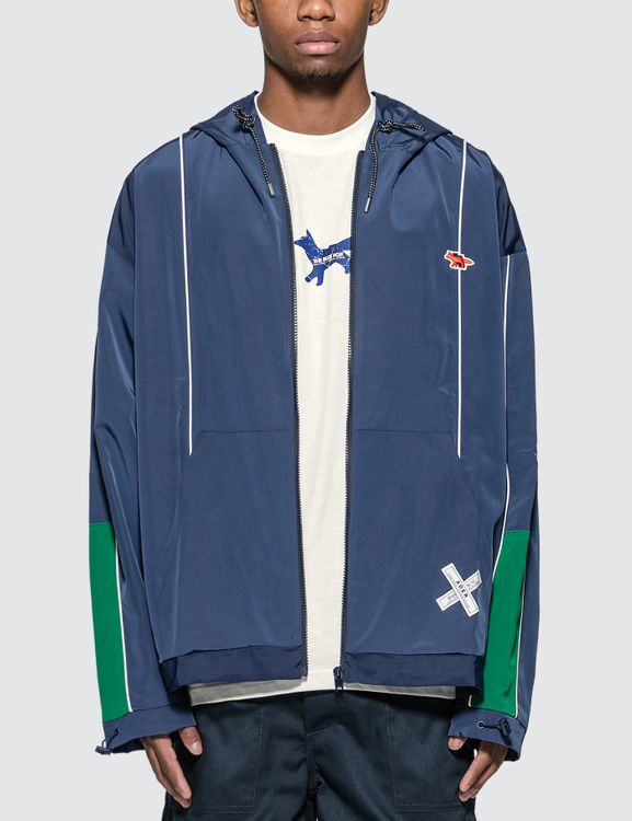 MAISON KITSUNE Ader Error x  Tetris Fox Zip-Up Jacket