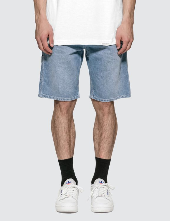 Carhartt WORK IN PROGRESS Ruck Single Knee Denim Shorts