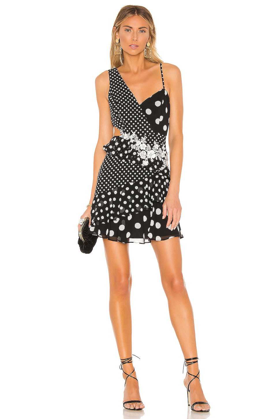 4bed80faa Buy Original BCBGMAXAZRIA Polka Dot Cut Out Dress at Indonesia ...