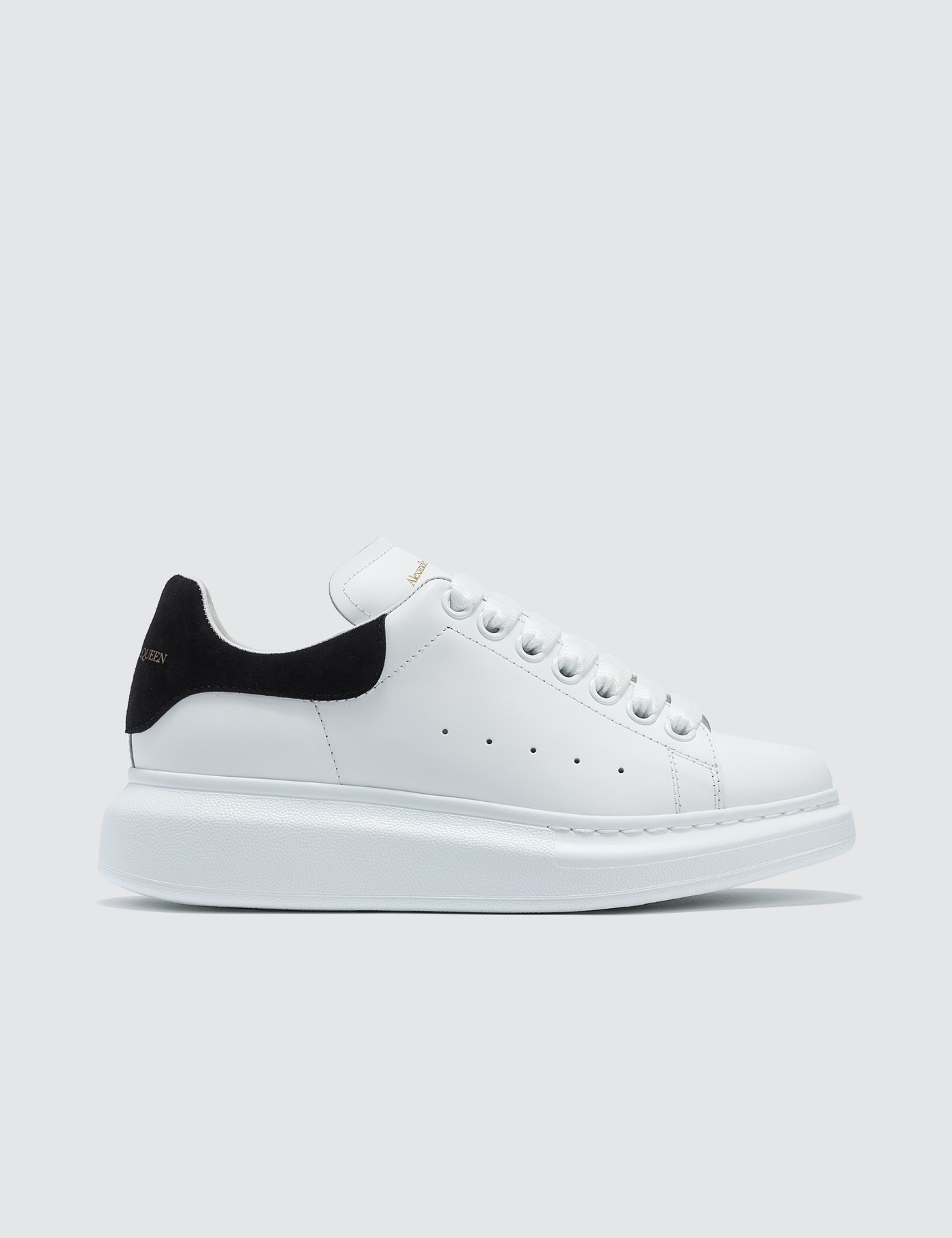 super popular 0548c b4c9d Raised-sole Low-top Leather Trainers, Alexander McQueen