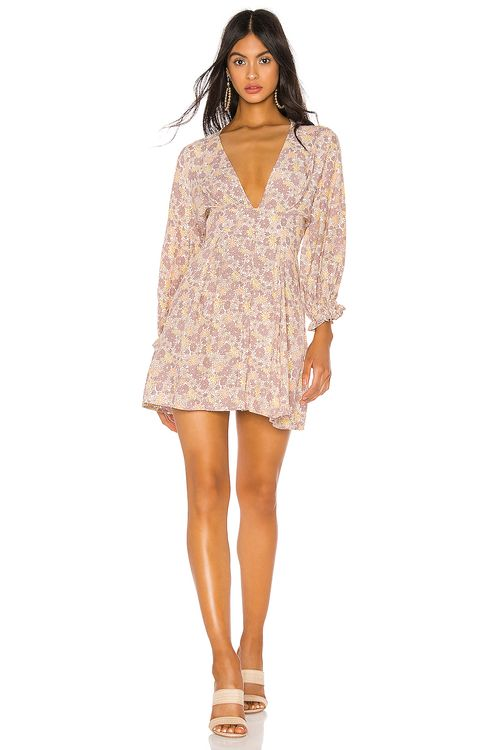 FAITHFULL THE BRAND Palmaro Mini Dress