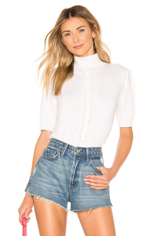 See By Chloé Lace Trim Sweater