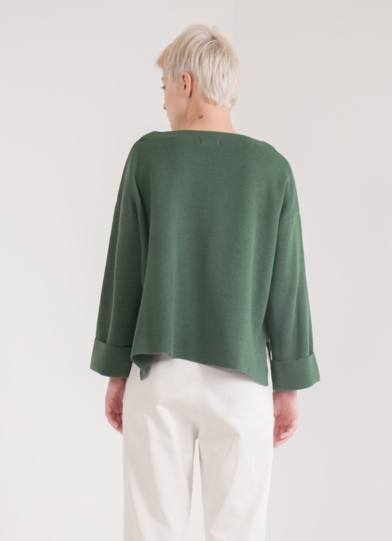Earth, Music & Ecology Tata Sweater - Green