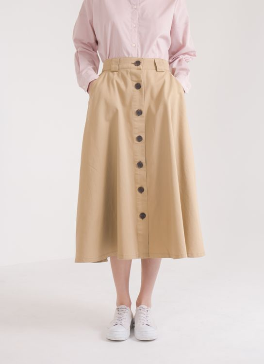 American Holic Julia Skirt - Beige