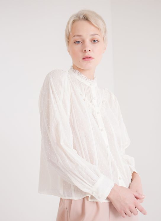 Earth, Music & Ecology Alice Top - Off White