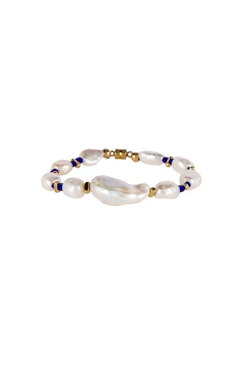 joolz by Martha Calvo Into The Blue Pearl Bracelet