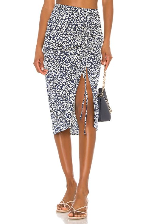 J.O.A. Ruched Skirt