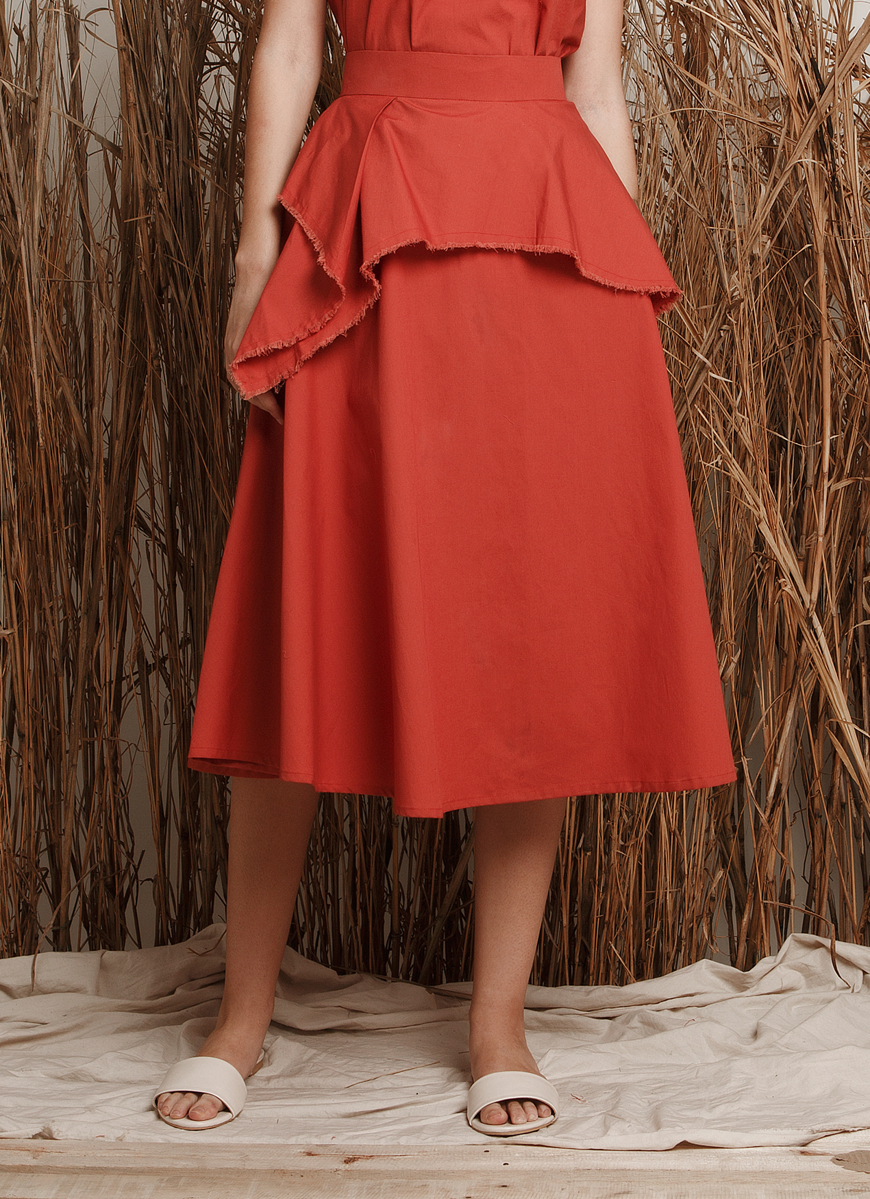 EUREKA Leonora Skirt - Orange